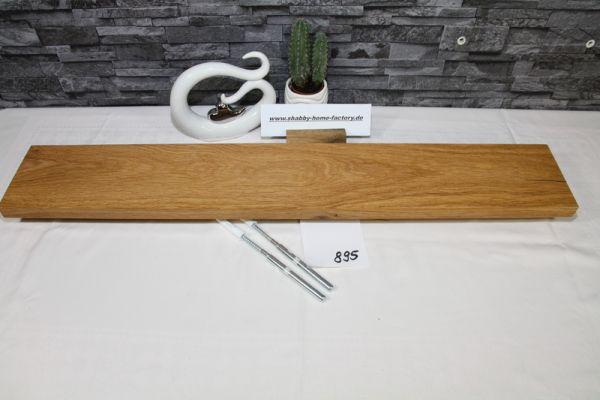 Wandoard Eiche Breite 85 cm / 13 cm Tiefe rustikal