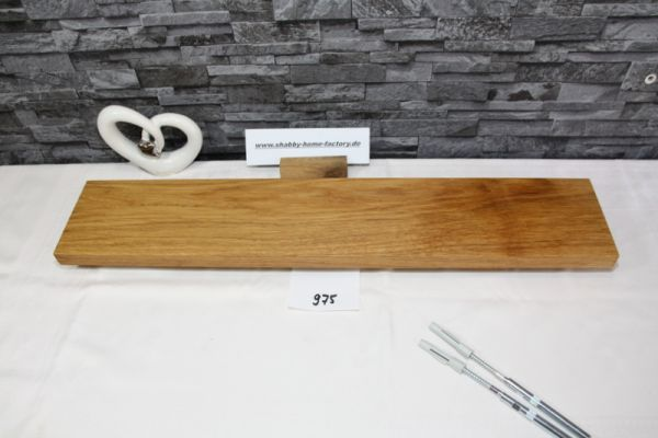 Wandoard Eiche Breite 72 cm / 13 cm Tiefe rustikal