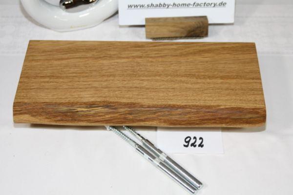 Wandboard Eiche Baumkante Breite 33,5 cm / 14 cm Tiefe
