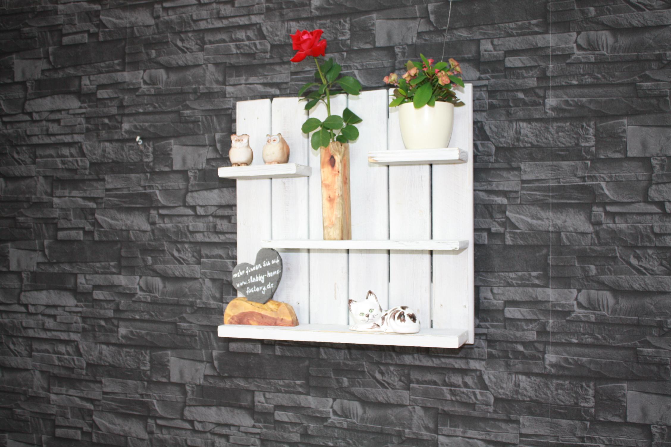 regal k che wandregal shabby wei a shabby m bel m bel wohnen shabby home. Black Bedroom Furniture Sets. Home Design Ideas