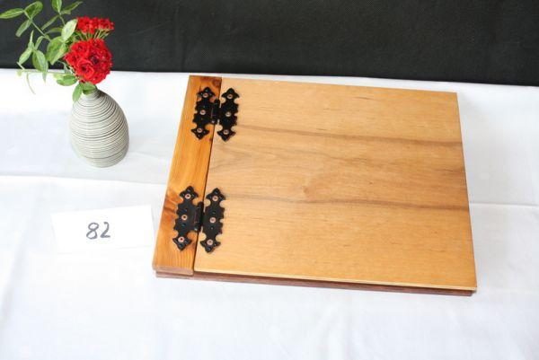 Holzbuch Gastgeschenk Gästebuch aus Holz Hochzeit #82