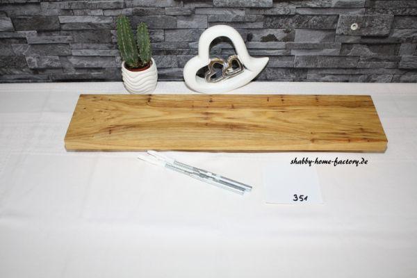 Wandboard Eiche massiv geölt 60 cm mit besonderer Maserung