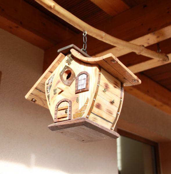 Luxus Nistkasten Vogelhaus Gartendeko Birdhouse Nisthilfe