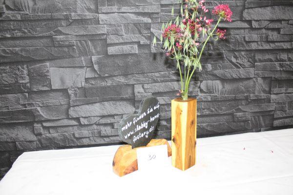 Vase aus Goldregen massiv #30