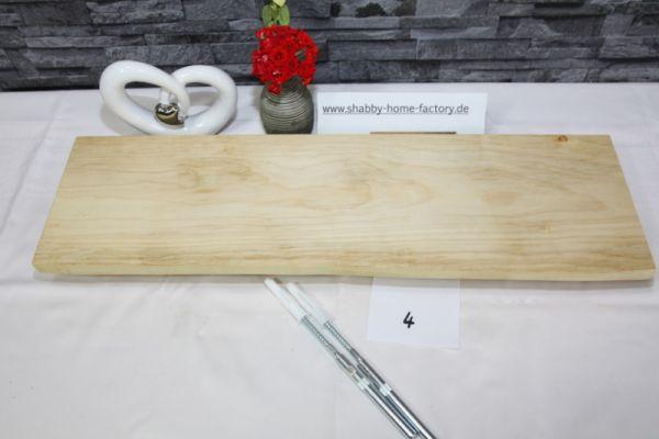 Wandboard 61 cm Ahorn massiv Baumkante