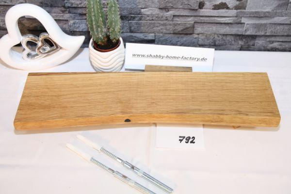 Wandboard Eiche Baumkante 48 cm Wandbrett