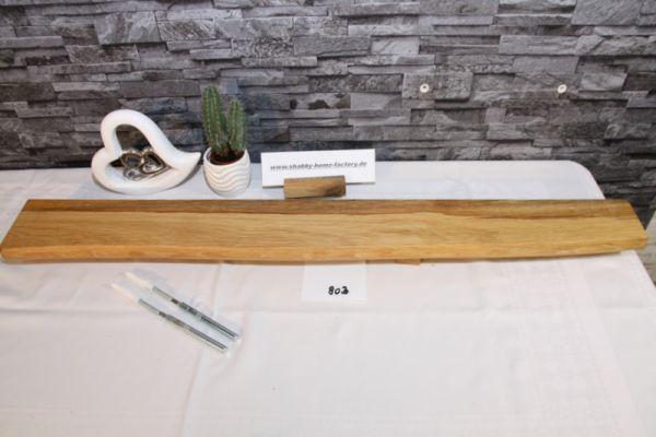 Wandboard Eiche Baumkante 94 cm Wandbrett