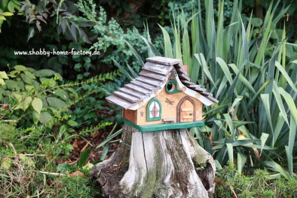 Nistkasten Nistkasten Vogelhaus Birdhouses Gartendeko Nisthilfe