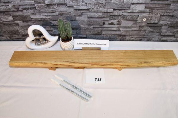 Wandboard Eiche Baumkante 83 cm Wandbrett