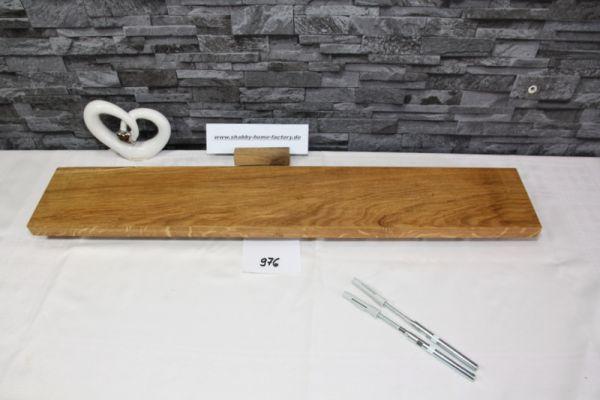 Wandoard Eiche Breite 80 cm / 13 cm Tiefe rustikal