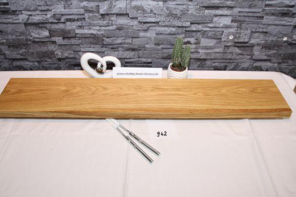 Wandoard Eiche Breite 100 cm / 17 cm Tiefe