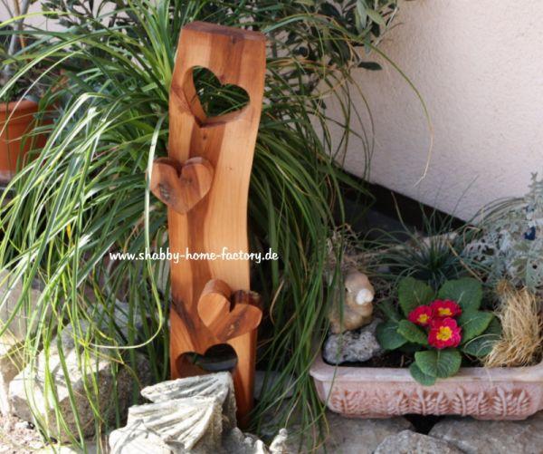 Dekoschild Eingangsschild Holz massiv Apfelholz