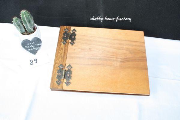 Holzgästebuch Holzbuch Gästebuch aus Holz Hochzeit #89