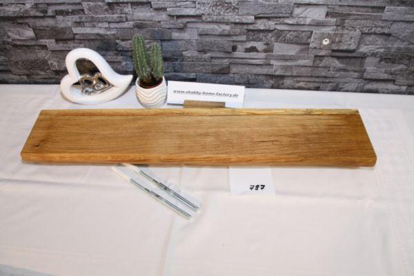 Wandboard Eiche Baumkante 74 cm Wandbrett