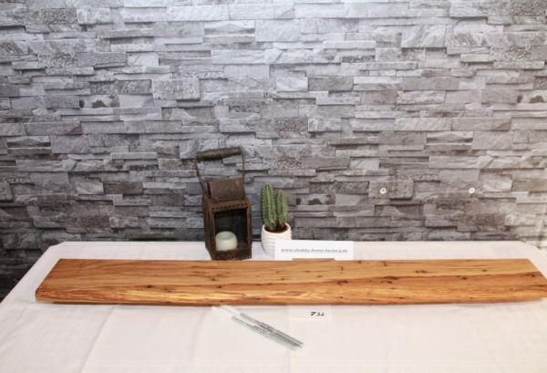 Wandboard Eiche Baumkante 109 cm Gewürzboard