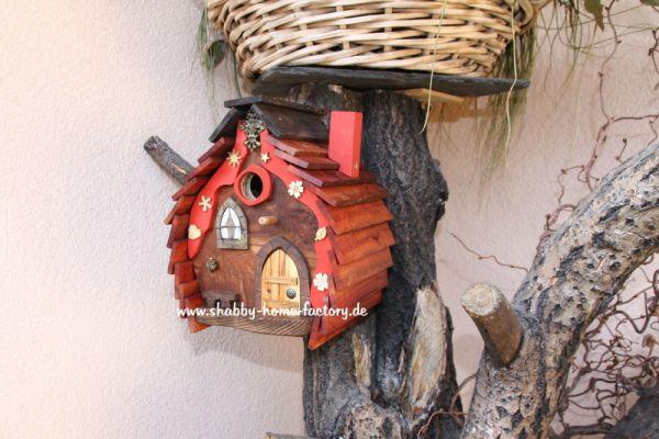 Nistkasten Gartendeko Vogelvilla Nisthilfe Vogelhaus