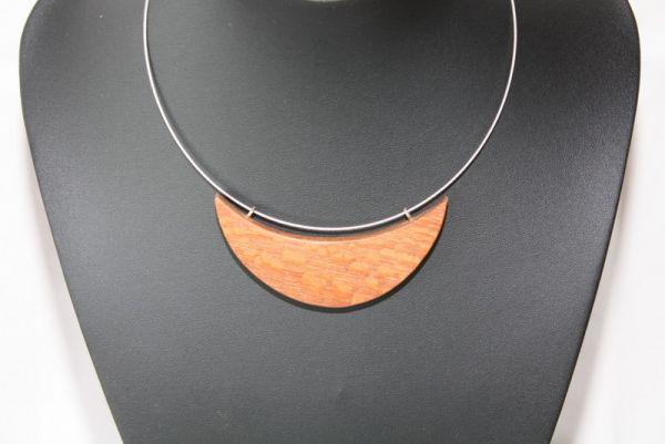 Holzschmuck aus Perlholz Halskette #49