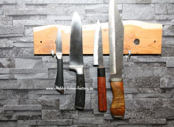 Messerleiste magnetisch Messerblock Eibe Messerhalter