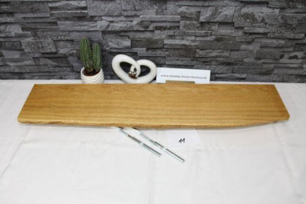 Wandboard Eiche Baumkantenbord 84 cm breit 15-17 cm tief