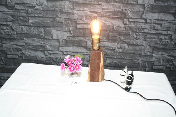 Edison Lampe Industrie Style massiv Eiche #16