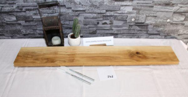 90 cm Board Eiche massiv geölt mit besonderer Maserung