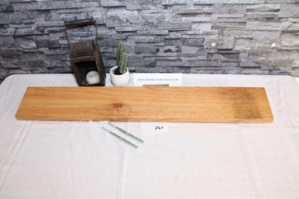 90 cmEiche Wandboard mit besonderer Maserung massiv geölt
