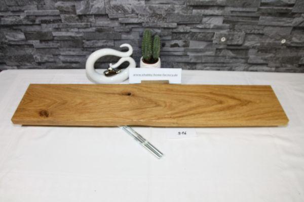 Wandoard Eiche Breite 85 cm / 16 cm Tiefe rustikal