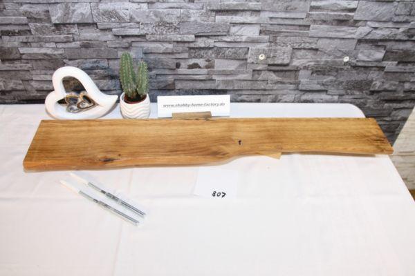 Wandboard Eiche Baumkante 84 cm Wandbrett
