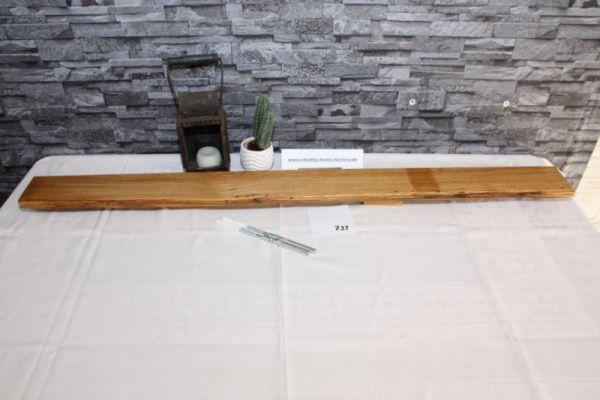 116 cm Wandboard Eiche Baumkante Gewürzbord #739