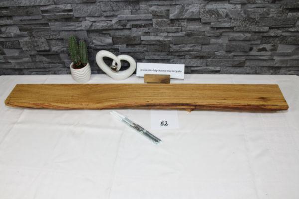 Wandboard Eiche Breite 95 cm / 11 cm Tiefe massiv