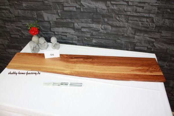 Kupfereiche Wandbord rustikal #106