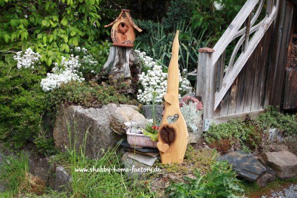 Eingangsschild Holz Deko massiv Eiche geölt Gartendeko