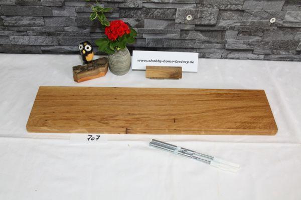 60 cm Eiche Board massiv geölt besonderer Maserung