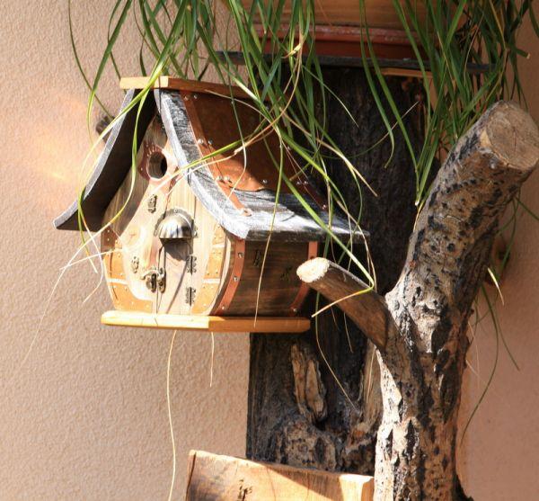 Nistkasten Vogelhaus Gartendeko Hochzeitsgeschenk Birdhouse