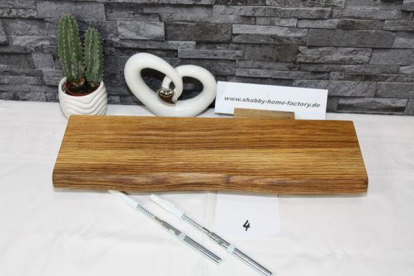 Wandboard Eiche Baumkante 46 cm Tiefe 13 /14 cm Wandbrett