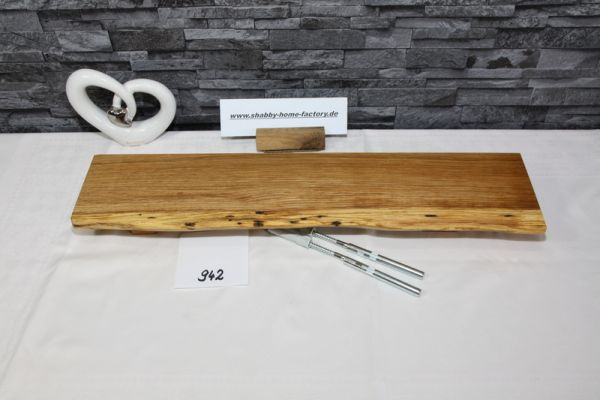 Eiche Wandboard massiv geölt 58 cm breit