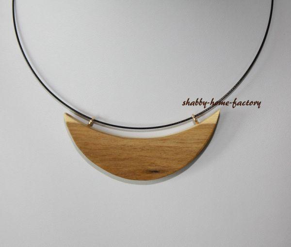 Goldregen Schmuck aus Holz