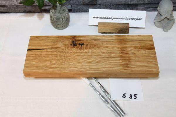Starke Boards Eichenboard Wildeiche Breite 37 cm